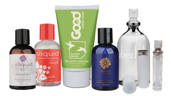 Sliquids, Good Clean Love, and Uberlube lubricants